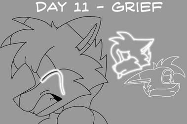 Atlus Artober Day 11 - Grief