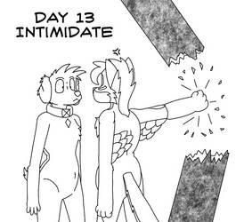 Atlus Artober Day 13 - Intimidate