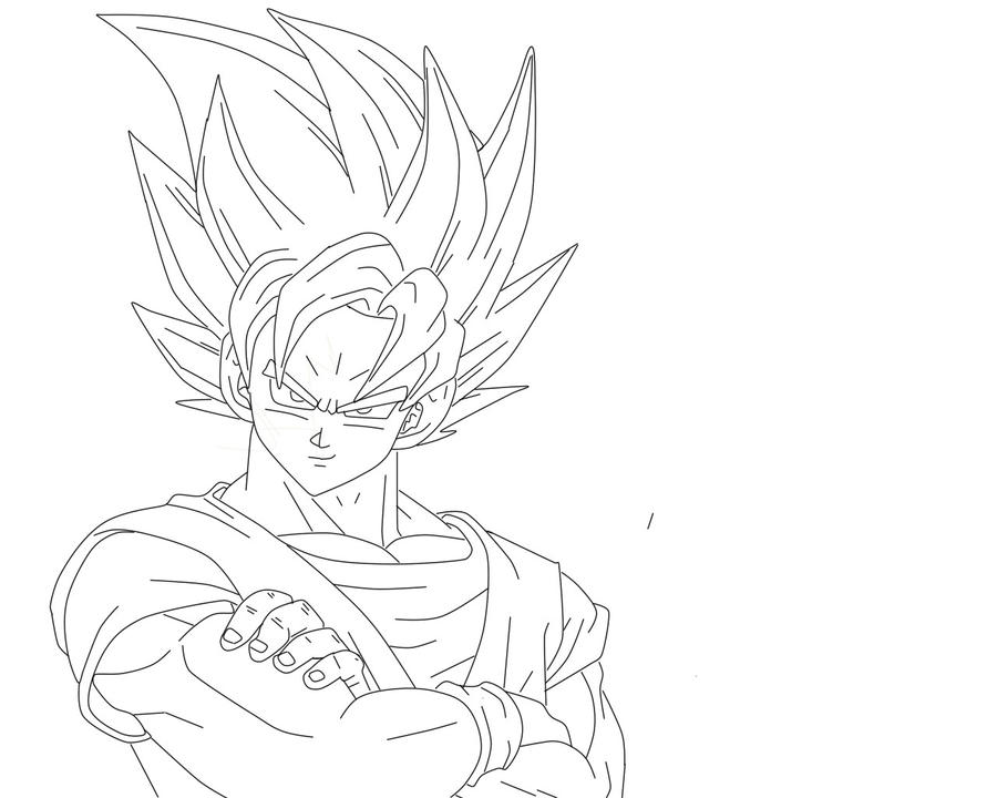 Dragon Ball Lineart By Limet94 ...