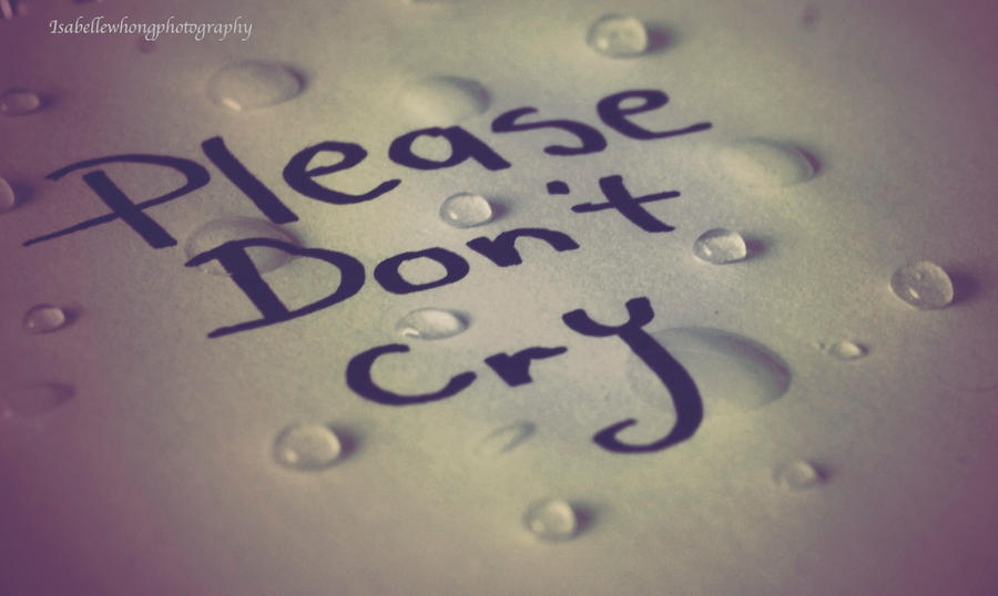 Warriors Don T Cry Essay  Cfcpoland Please Dont Cry By Afk Photo On Deviantart