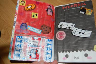Kawaii Mini Journal Page 3+4