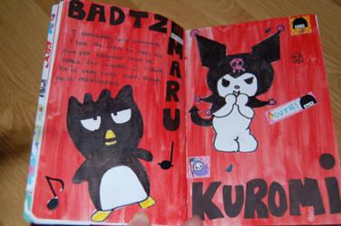 Kawaii Mini Journal Page 7+8
