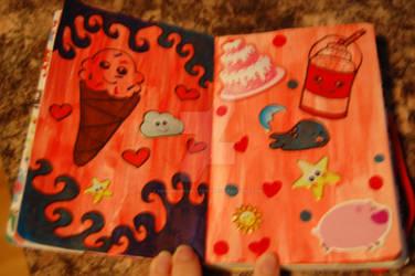 Kawaii Mini Journal Page 5+6