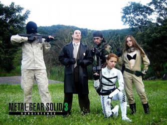 Metal Gear 3  group by Raurus