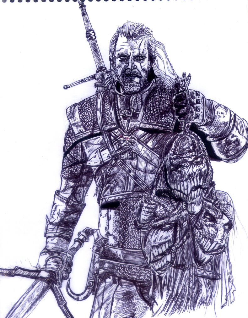The Witcher by Raurus
