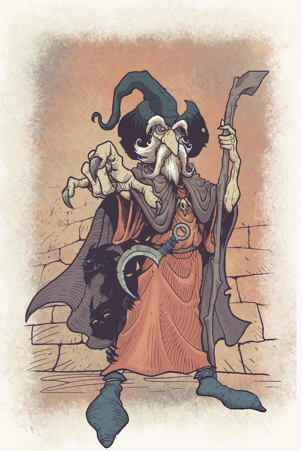 Wizard by BDAROZ