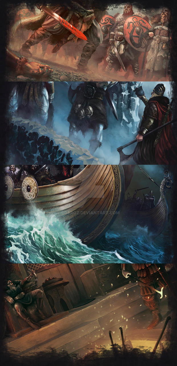 Nine Shields Saga (samples) by BDAROZ