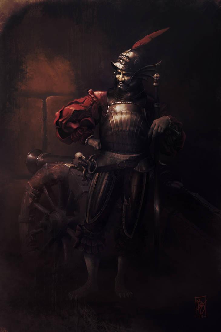 Vepar, demon duke of the stormy seas by AtmaFlare on