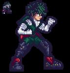 Midoriya Izuku (Deku) Hero suit