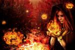 Pumpkin Queen by Vikusya25