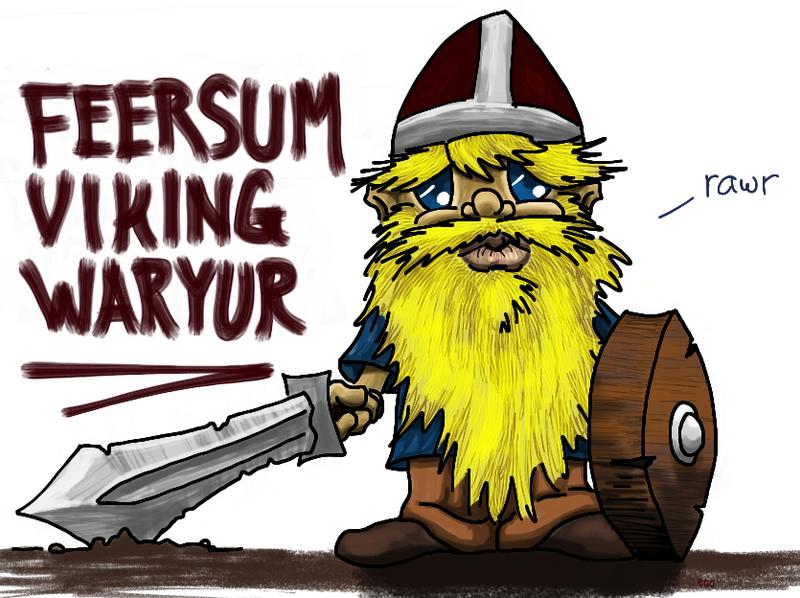 Feersum Viking Waryur by Callego