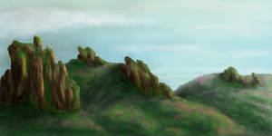 Speedpaint Landscape