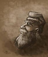 Graybeard speedpaint by Callego