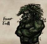 Forest Troll Sketch