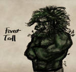 Forest Troll Sketch