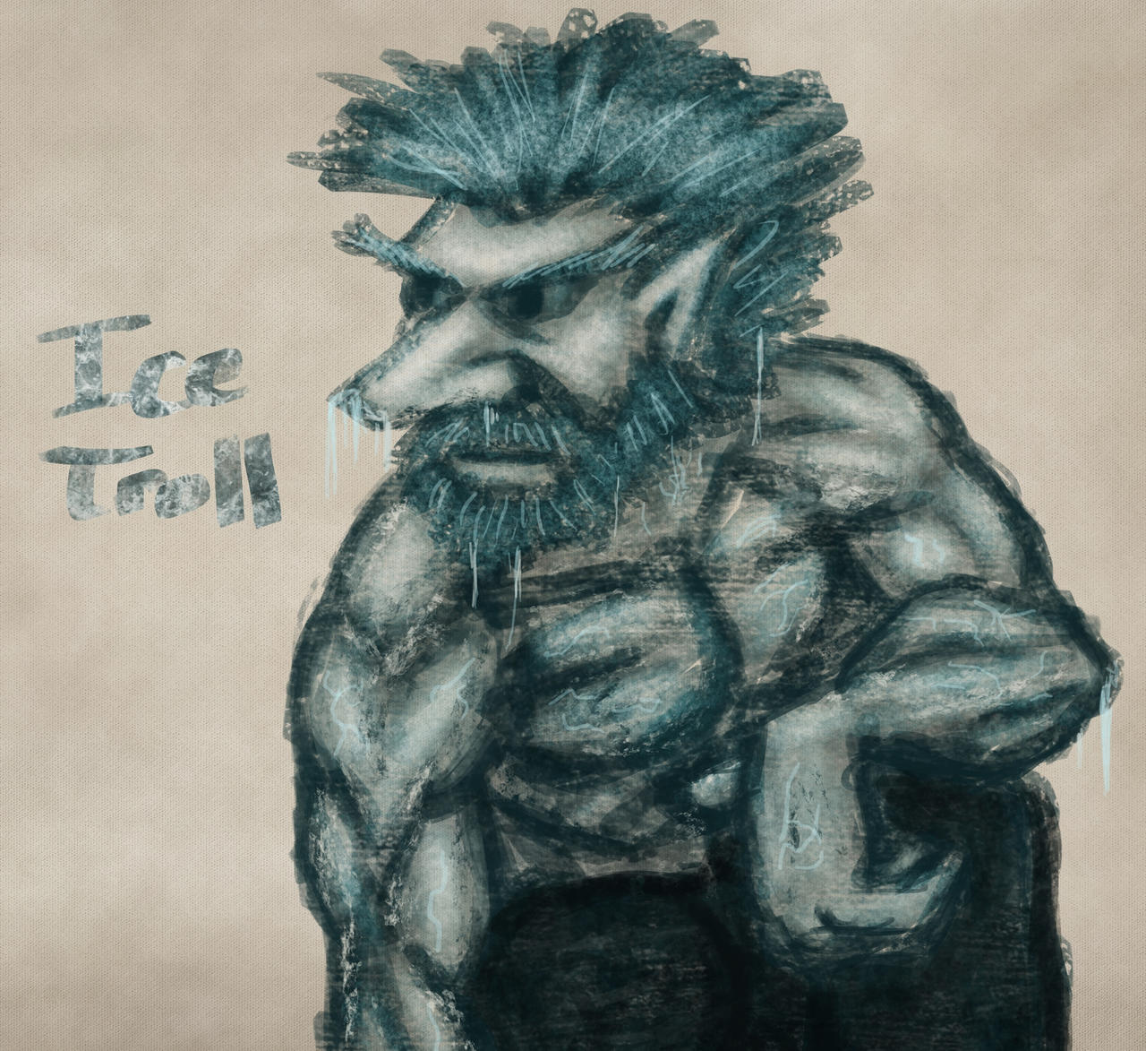 Ice Troll Sketch