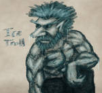 Ice Troll Sketch