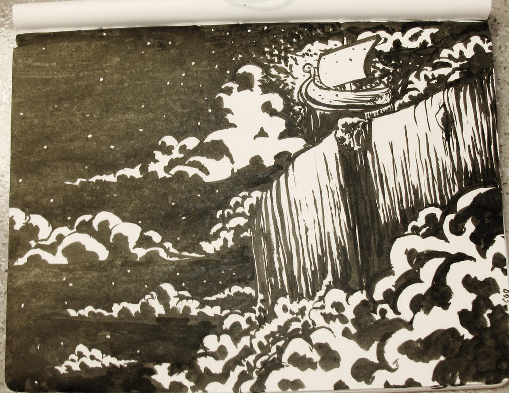 Ocean's Silent Brim