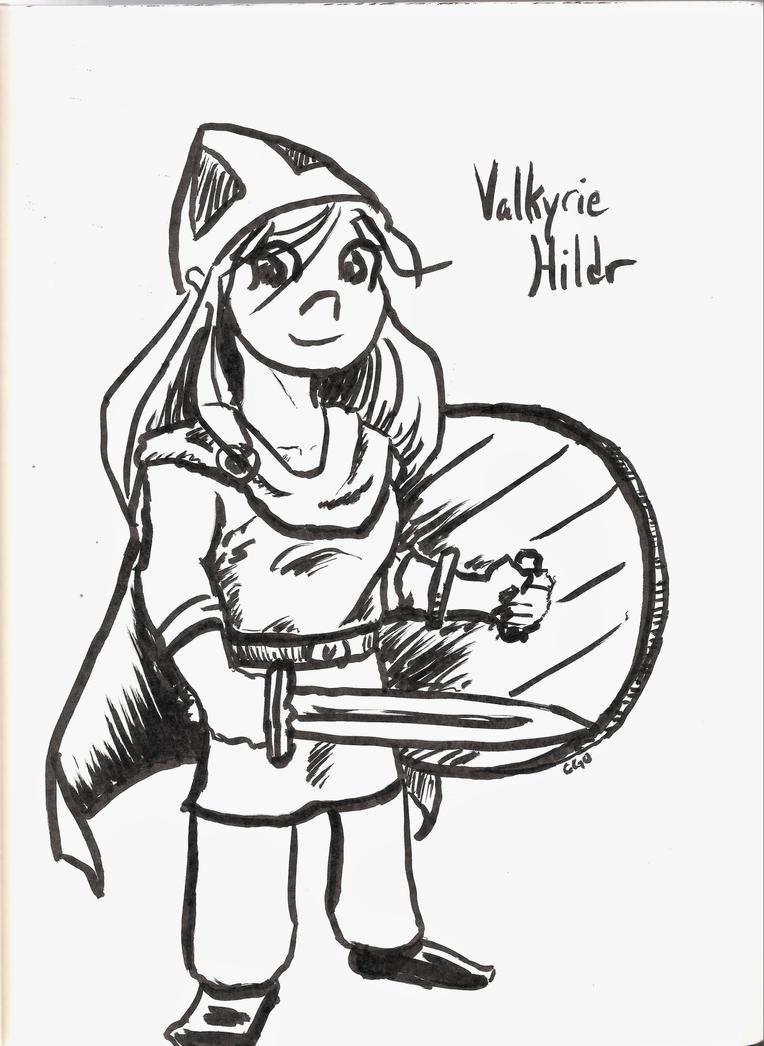 Valkyrie Hildr by Callego
