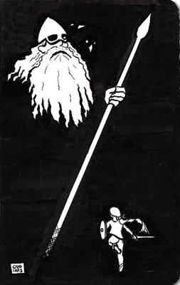 Odin and Valkyrie