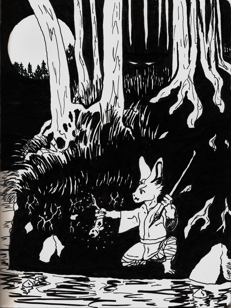 Goblin Fishing by Callego