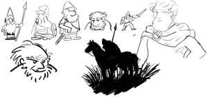 Viking Doodles