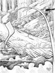 Lookout on Invasion: Webcomic concept art