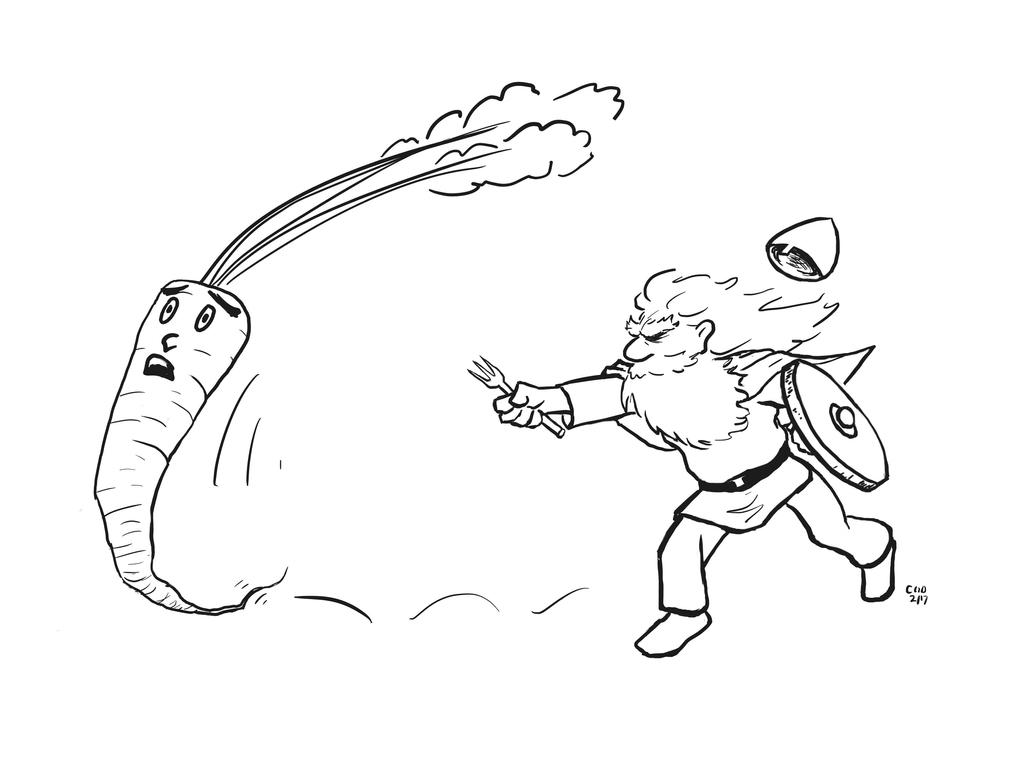 Hungry Viking