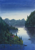 Twilight Fjord II by Callego