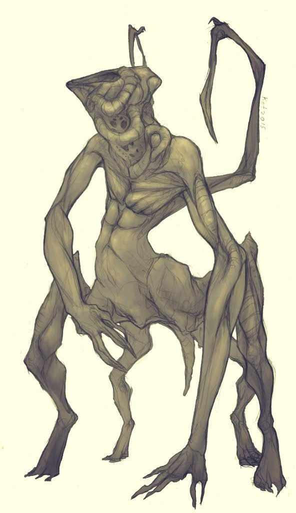 monster by Ket-n-Ksenon