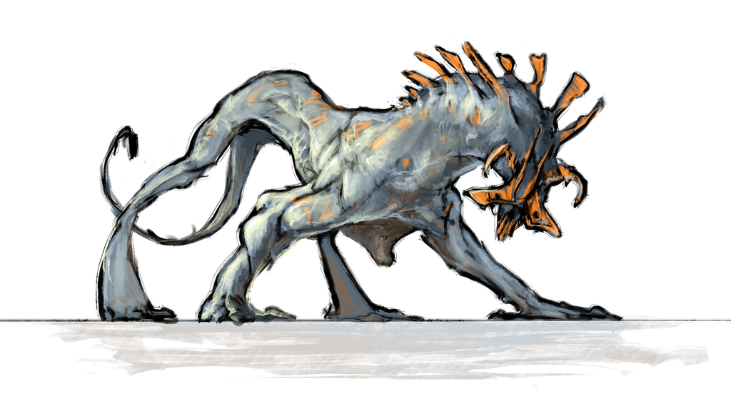 creature concept by Ket-DawnAtSunset