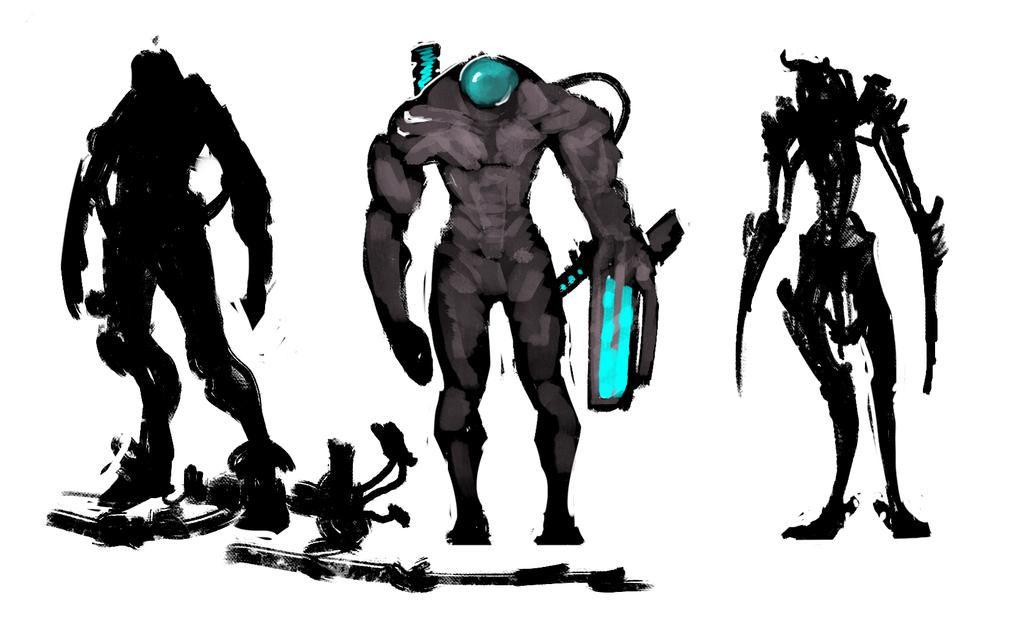 sketches by Ket-DawnAtSunset