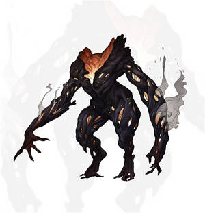 Creature of Scorched Forest