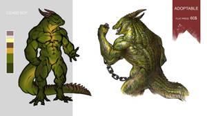 [CLOSED] Adoptable: Lizard Boy