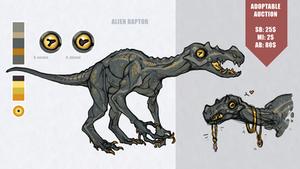 [CLOSED] Auction: Alien Raptor
