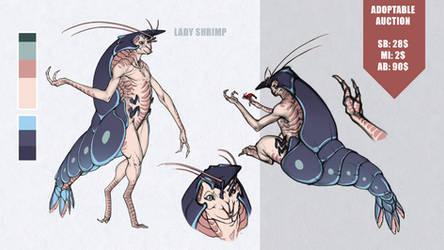 [CLOSED] Auction: Lady Shrimp