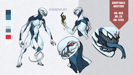 [CLOSED] Auction: Synthetic Spy
