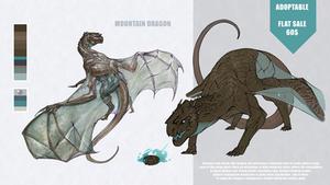 [CLOSED] Adopt: Mountain Dragon