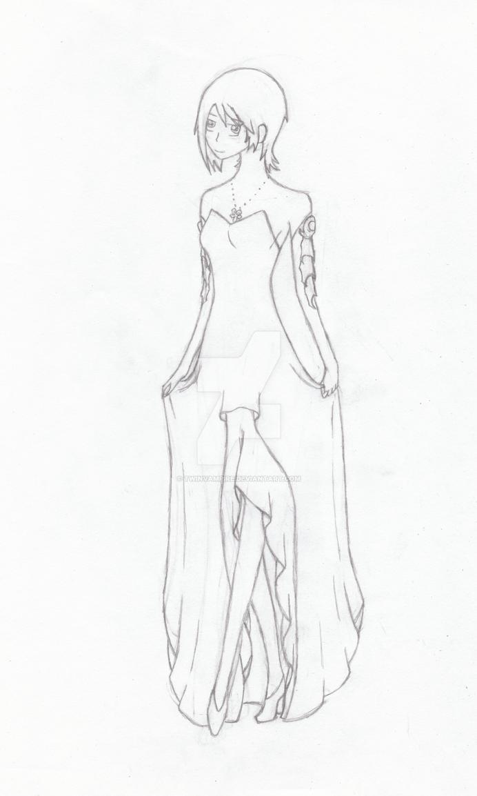 Aqua's Dress by TwinVampire
