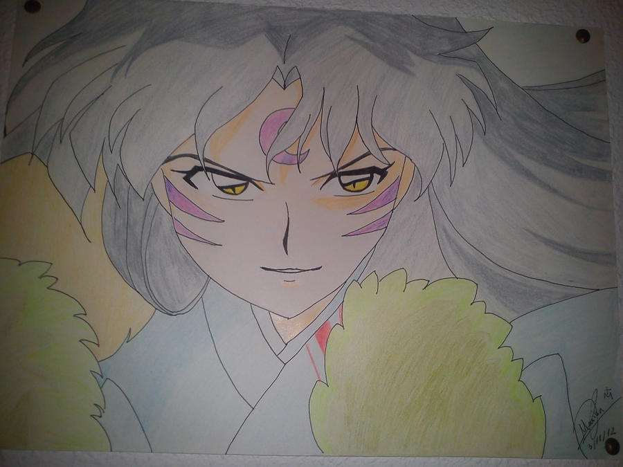 sesshomaru by MarinaManaphy