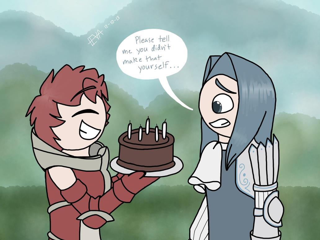 Happy Birthday, Virion by ars-autem-lux on DeviantArt