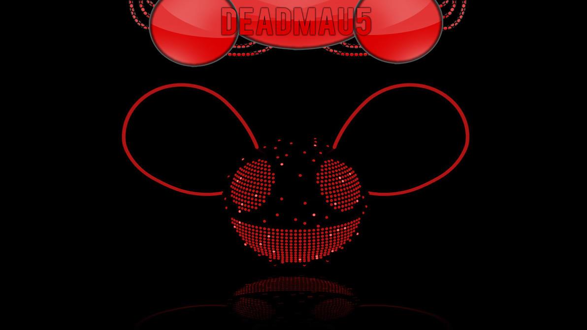 deadmau5 music red wallpaper - photo #1