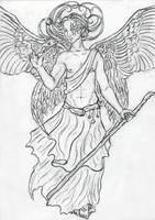 Archangel Raphael by Sjostrand