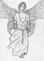 Archangel Gabriel by Sjostrand