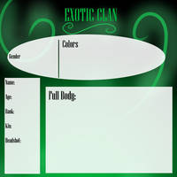 Exoticclan Application by SkittySea