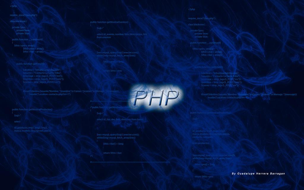 Wallpaper Php Programming By Artgh