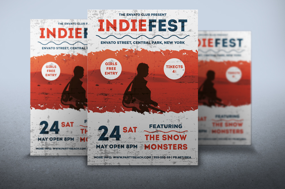 Flyer Indie Fest by artgh