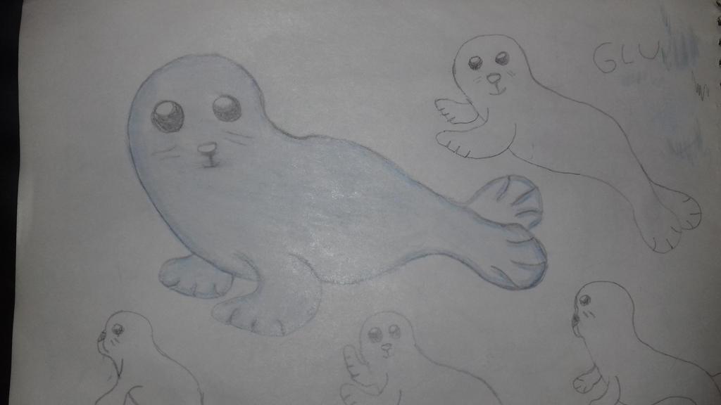 Baby seal by artgh