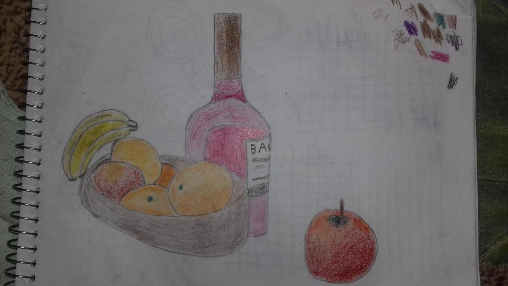 Still Life. Draw by artgh