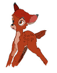 Bambi digital art by artgh